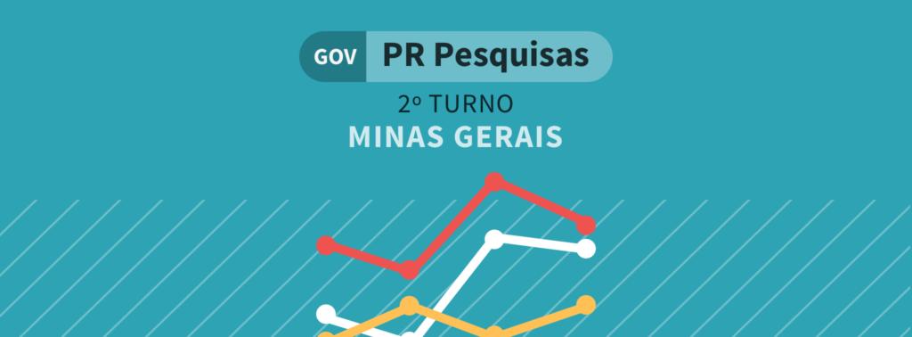 Paraná Pesquisas: Romeu Zema chega a 73,6% dos votos válidos para o governo de MG