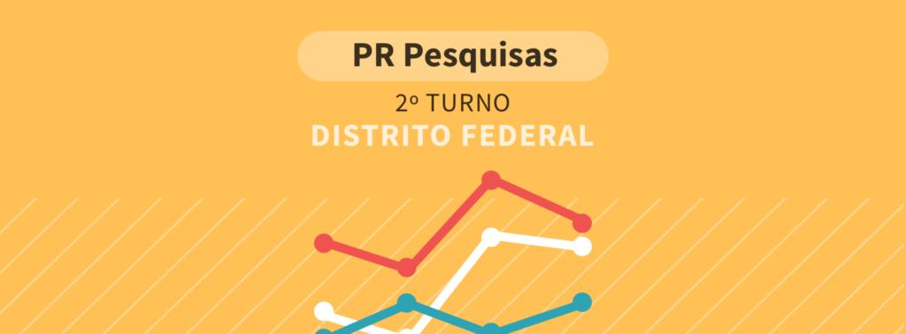 Paraná Pesquisas: No Distrito Federal, Bolsonaro tem 74,5% dos votos válidos e Haddad, 25,5%