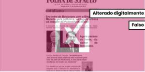 Notícia que sugere que Bolsonaro vá tirar Nossa Senhora Aparecida do posto de padroeira do Brasil é uma montagem