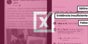 Ursal não existe e, portanto, não armou esquema para manipular urnas