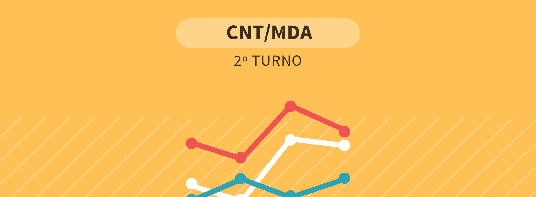 Tem Na Web - Última pesquisa CNT/MDA: Bolsonaro tem 56,8% dos votos válidos, contra 43,2% de Haddad - Eleições 2018