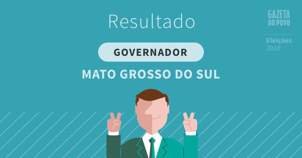 Reinaldo Azambuja e Juiz Odilon disputarão o segundo turno para o governo do Mato Grosso do Sul