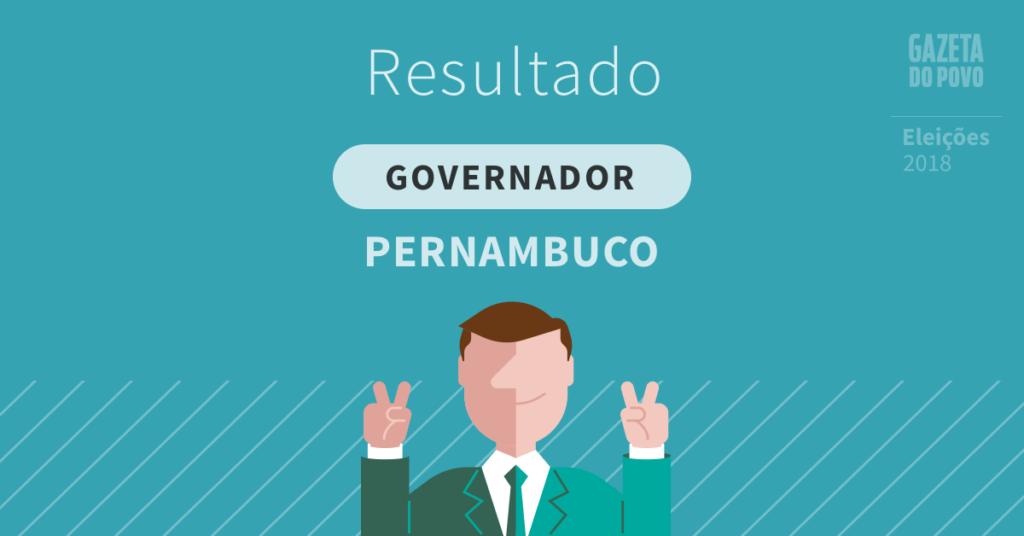 Paulo Câmara é reeleito governador de Pernambuco