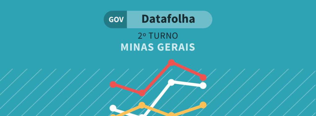 Datafolha MG Segundo Turno: Zema tem 68% e Anastasia 32%