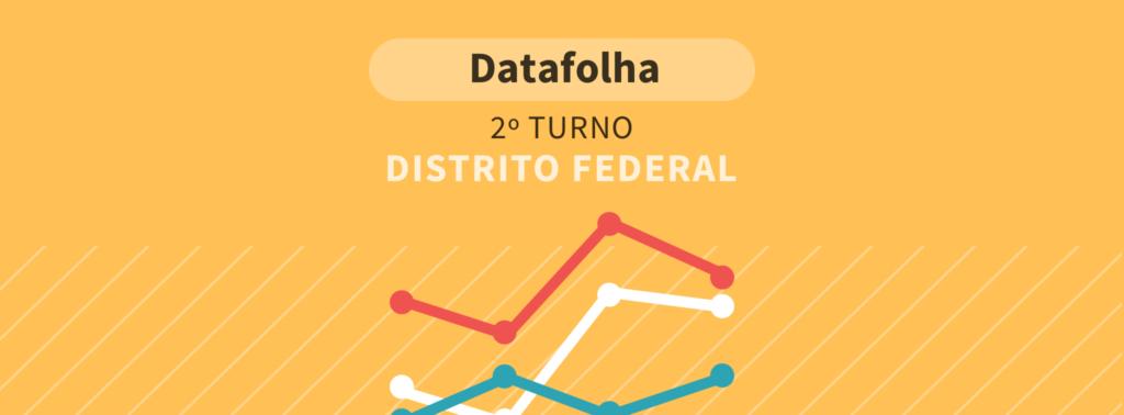 Datafolha presidente: No DF, Bolsonaro tem 67% dos votos válidos