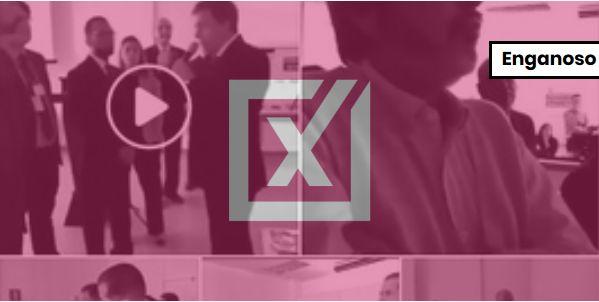Vídeo de urna com defeito em teclado não prova fraude em votação