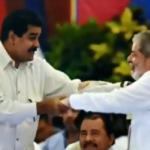 Nicolás Maduro e Lula. Foto: Reprodução/Twitter