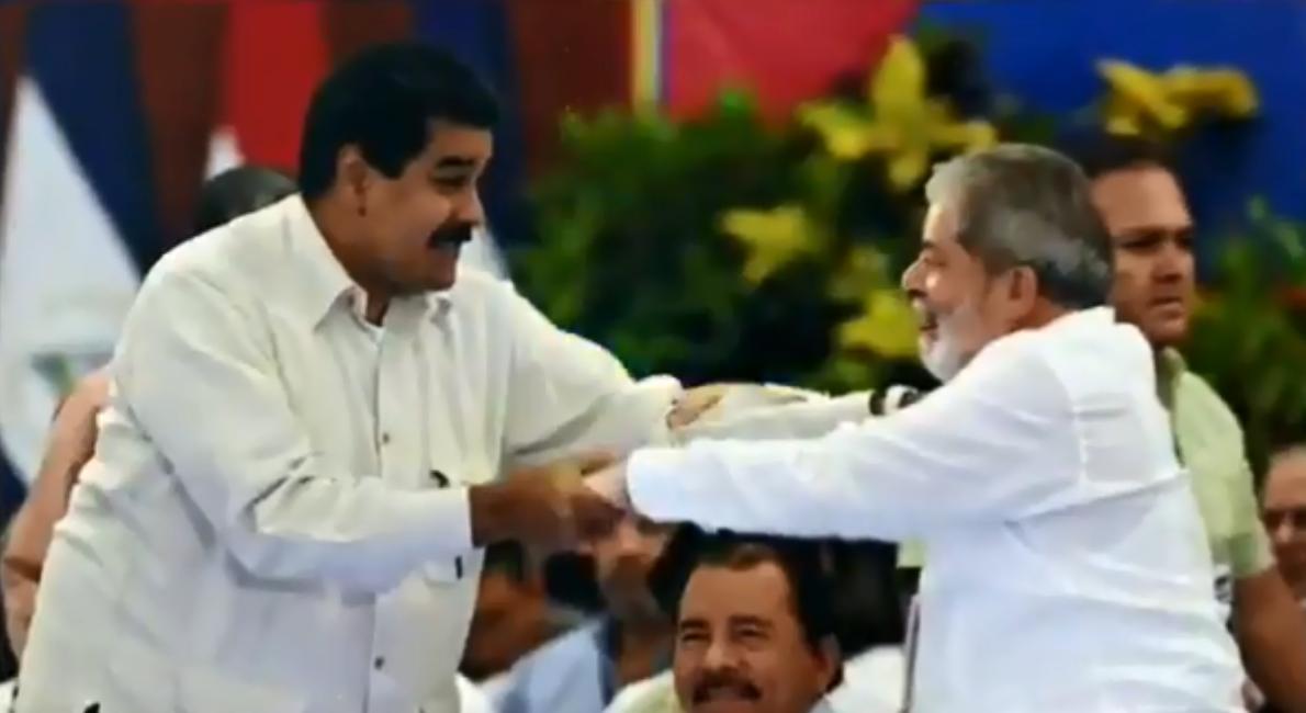 Maduro publica vídeo em homenagem a aniversário de Lula