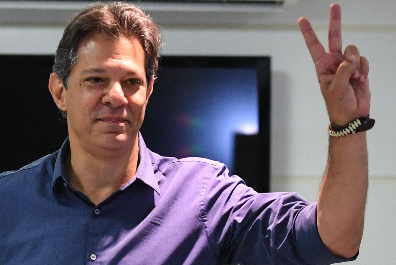 Após discurso sem mencionar Bolsonaro, Haddad deseja sucesso e sorte ao novo presidente