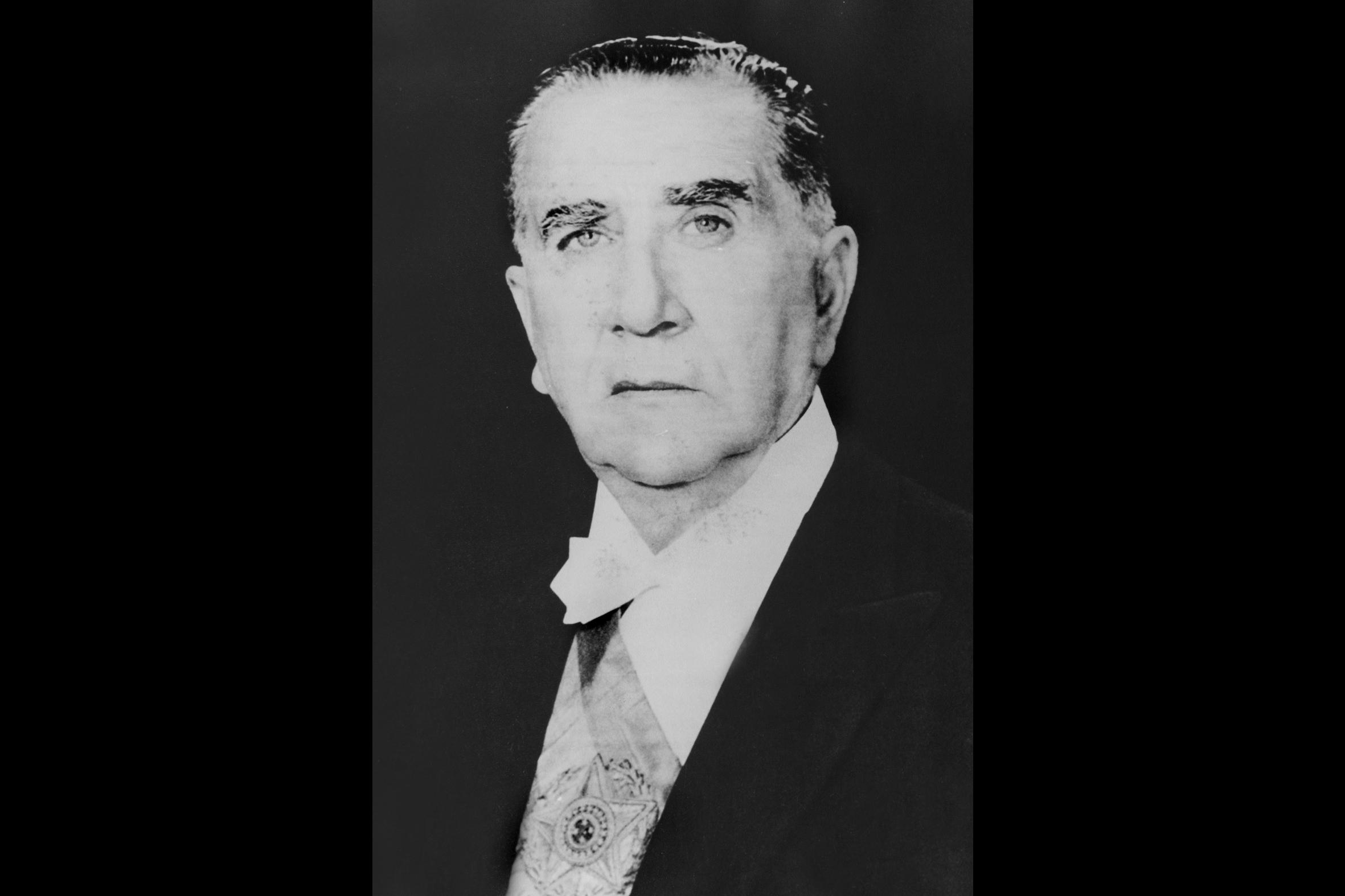 Emílio-Garrastazu-Médici um dos presidentes militares do Brasil