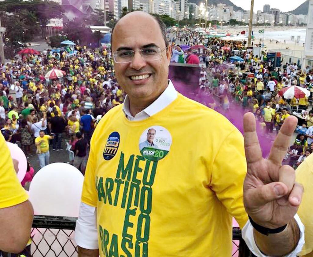 Confirmado novo Governador do Rio de Janeiro, Juiz Witzel segue 'linha Bolsonaro'