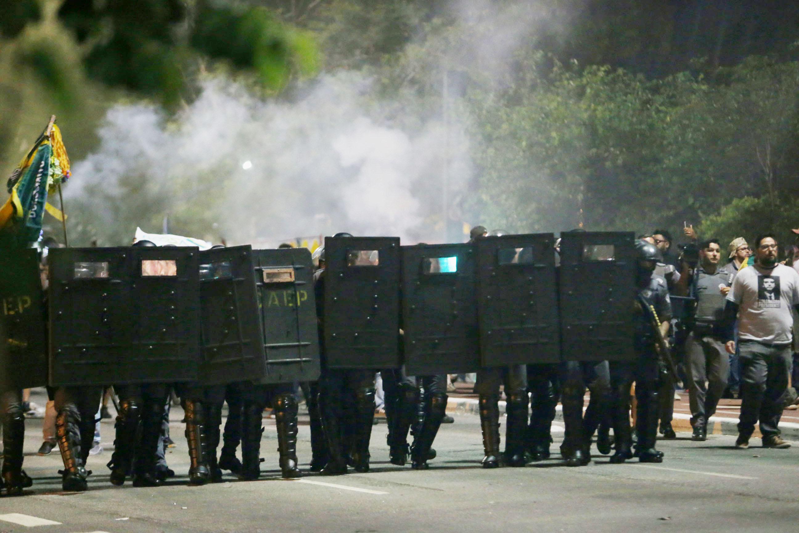 São Paulo e Rio de Janeiro registram confrontos envolvendo militantes pró e contra Bolsonaro