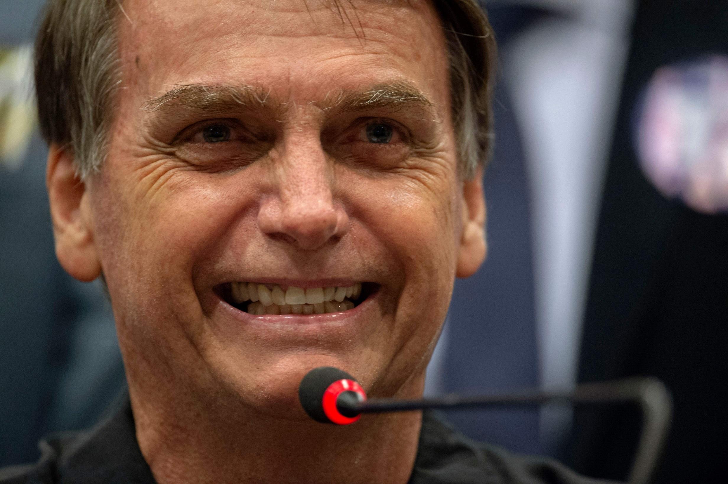 Veja o vídeo da comemoração de Bolsonaro quando soube que estava eleito