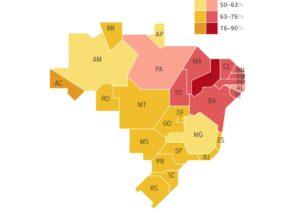 2º turno entre Bolsonaro (PSL) e Haddad (PT): quem ganhou em cada estado